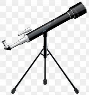 School Telescope Clipart Image - Telescope Clip Art PNG