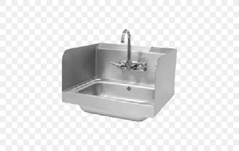 Kitchen Sink Stainless Steel Tap Drain, PNG, 520x520px, Sink, Bathroom, Bathroom Sink, Bowl, Countertop Download Free
