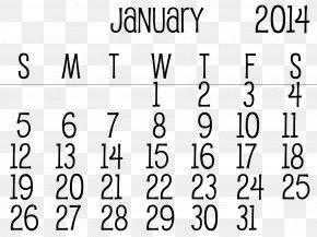January - Lunar Calendar Ephemera 0 July PNG