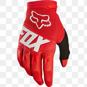 Fox Racing Ascent Glove Red