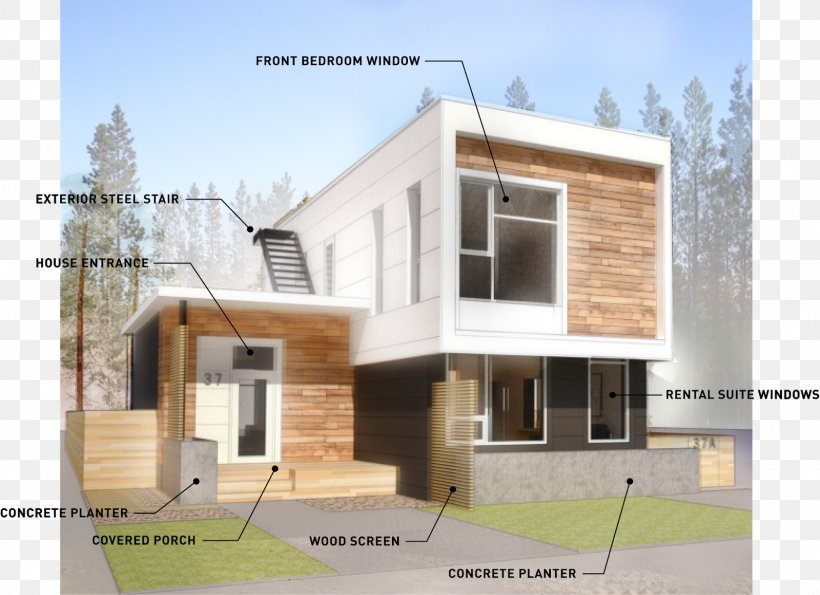 House Flat Roof Facade Roof Pitch Png 1600x1162px House Architecture Building Elevation Facade Download Free