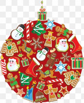 Christmas Ornament Pics - Christmas Ornament Santa Claus Clip Art PNG