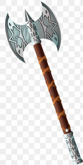 Double-edged Ax - Hatchet Axe PNG