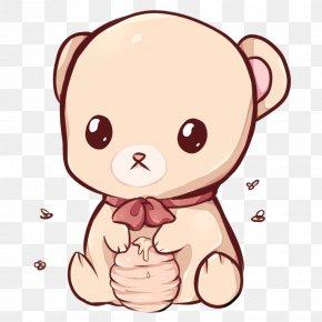 Kawaii - Polar Bear Kavaii Drawing Cuteness PNG