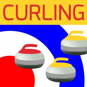 Curling Cliparts - Curling At The Winter Olympics Winter Olympic Games Hair Iron Stone Clip Art PNG