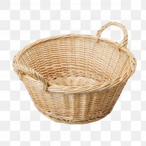 Empty Easter Basket Photo - Gift Basket Hamper Craft PNG