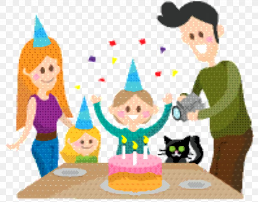 Kids Playing Cartoon Png 1844x1448px Family Birthday Birthday Party Cake Decorating Cartoon Download Free