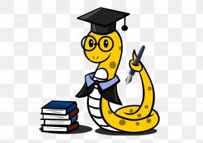 Dr. Cartoon Snake - Tung Shing Snake Chinese Zodiac PNG