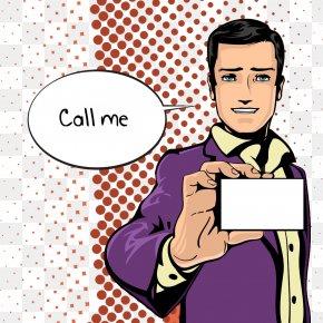 Cartoon Man - Royalty-free Comics Illustration PNG