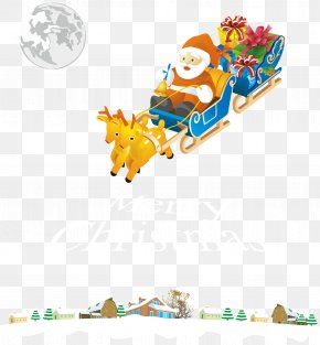 Free Christmas Posters Buckle Material - Santa Claus's Reindeer Santa Claus's Reindeer NORAD Tracks Santa Christmas PNG