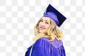 Square Academic Cap Hat Graduation Ceremony Shoelace Knot PNG