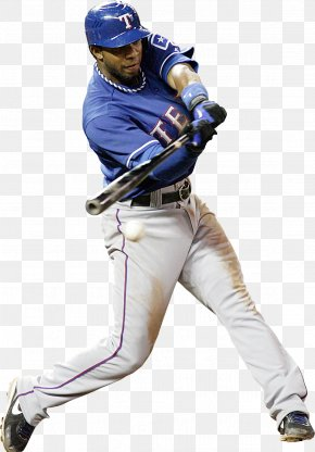 Baseball Player - Texas Rangers MLB Baseball Positions Baseball Player PNG