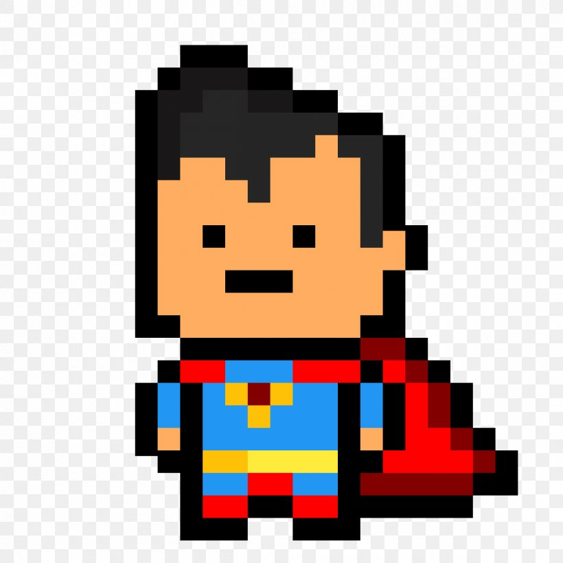 Superman Logo Pixel Art Batman Png 1200x1200px Superman