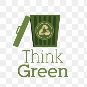 Green Trash Cans - Recycling Waste Container Plastic Bag PNG