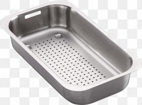 Stainless Steel Strainer - Franke Sink Bowl Stainless Steel Strainer Sieve PNG