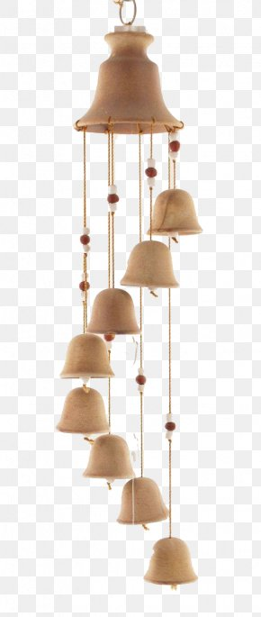 Simple Ceramic Wind Chimes - Wind Chime Ceramic Bell Clay PNG