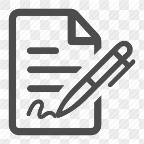 Free Icon Contract - Document Sign Contract Clip Art PNG