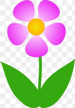 Flower Art Clip - Flower Free Content Clip Art PNG