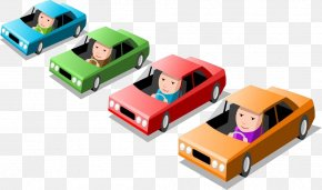 Driving The Exam - Car Royalty-free Stock Illustration Illustration PNG