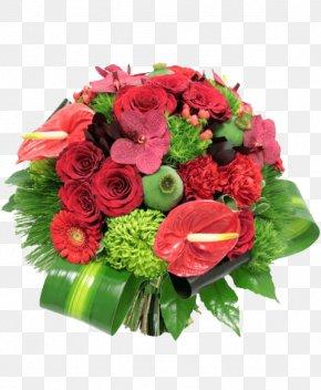 Flower - Flower Bouquet Cut Flowers Garden Roses Florist PNG