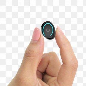 Hand Holding Bluetooth Headset - Microphone Bluetooth Headphones Wireless Headset PNG