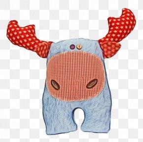 Textile Toy - Orange PNG