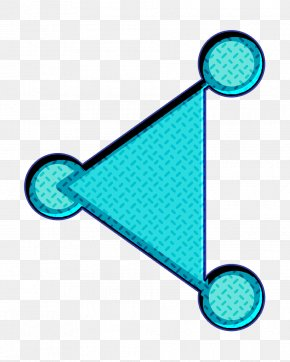 Turquoise Social Icon - Communication Icon Media Icon Modern Icon PNG