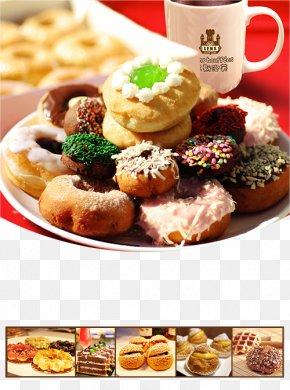 Dish Donut - Doughnut Muffin Mold Bread Cake PNG