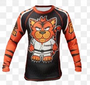 T-shirt - T-shirt Rash Guard Child Brazilian Jiu-jitsu Gi PNG