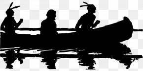 Fishing Boat - Canoe Native Americans In The United States Clip Art PNG