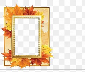 Yellow Frame - Picture Frame PNG
