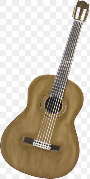 Folk Pop Guitar - Steel-string Acoustic Guitar Ukulele Clip Art PNG