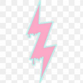 Thunder Bolt - Pastel Pink Drawing Lightning PNG
