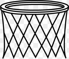 White Basketball Cliparts - Basketball Backboard Net Clip Art PNG