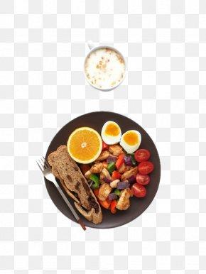 Hearty Breakfast - Breakfast Vegetarian Cuisine Ham Dish Bread PNG