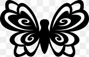 Monarch Butterfly Drawing Coloring - Monarch Butterfly Clip Art Die Cutting Design PNG