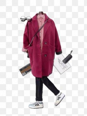 Women - Outerwear Coat Clothing PNG