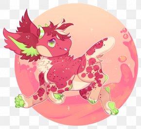Jam Strawberry - Pink M Organism Legendary Creature Clip Art PNG