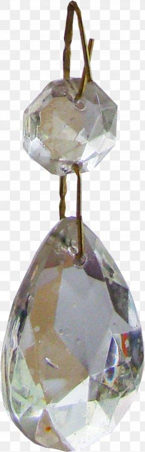 Jewelry - Earring Jewellery Diamond Crystal PNG