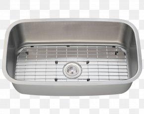 Copper Kitchenware - Kitchen Sink Kitchen Sink Stainless Steel Brushed Metal PNG