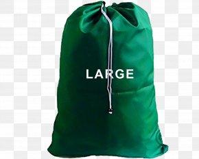 Bag - Bag Laundry Green Environmentally Friendly PNG