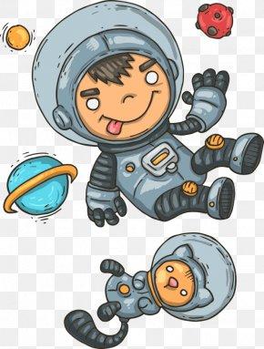 Vector Astronaut - Astronaut Euclidean Vector Outer Space PNG