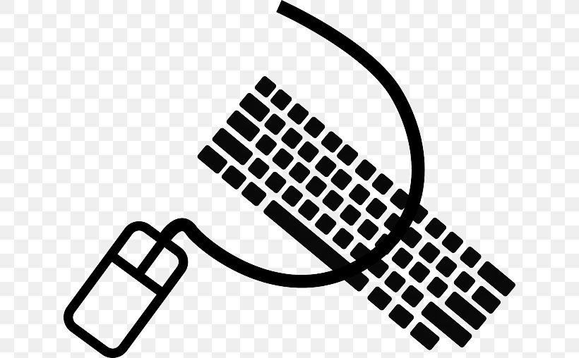 Mac Computer Tools Free Black White Clipart Images - Mac Clip Art - Png  Download (#3027720) - PikPng