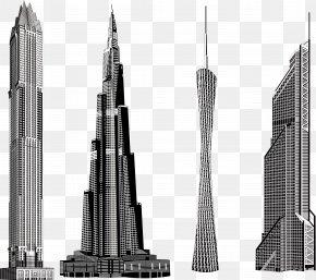 Skyscrapers - Skyscraper Euclidean Vector Download Vector Packs PNG