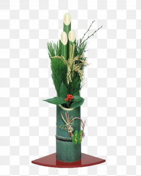 Floral Decoration,Flower Arrangement - Floral Design Kadomatsu Bamboe Flower Designer PNG