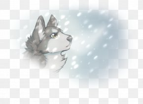 Falling Snow - Siberian Husky Sakhalin Husky Dog Breed Whiskers PNG