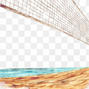 Beach Volleyball Net - Beach Volleyball Volleyball Net PNG