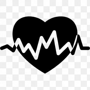 Heartbeat Vector - Heart Rate Electrocardiography Pulse PNG