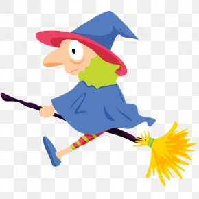 Cartoon Old Witch PNG