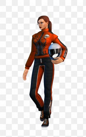 Video Game Character - EVR Race Racing Video Game Character PNG